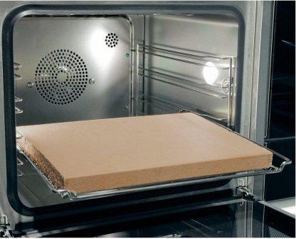 Pizzasteen voor in oven of bbq