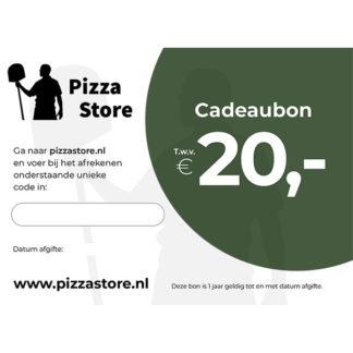 PizzaStore cadeaubon