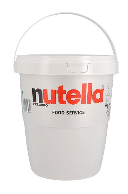 Nutella chocopasta 3kg verpakking