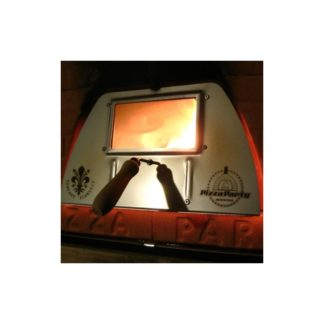 Deur met glas Pizza Party oven